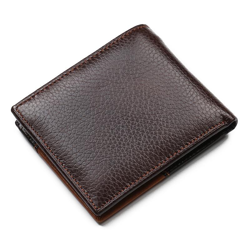 2018 Nya multifunktionella plånböcker 100% äkta läder plånbok - Plånböcker - Foto 2