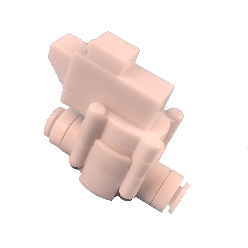 1PCS 1/4 OD Tube Quick Fitting Reverse Osmosis Tank Low Pressure Switch For RO Water Aquarium System 1/4 inch hose connection 1 meter ro water 1 4 3 8 inch od pe hose tubing white flexible pipe tube for reverse osmosis aquarium filter system