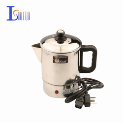 stainless steel even postures electric cup  400W Multifunctional electric skillet Hot pot small cooking pot
