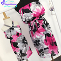 Dresses For Mother And Daughter Summer Beach Chiffon Family Look Mother Daughter Dress 2017 Sleeveless Flower Ropa Mama E Hija