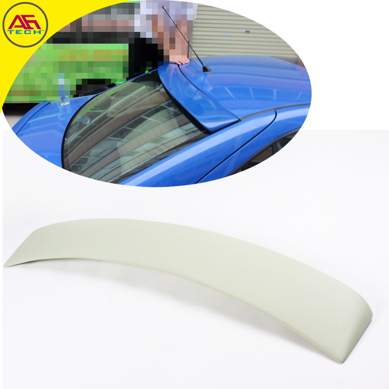 ABS Primer AG Style Auto Back Window Shelter Spoiler Car Rear Spoiler Rear Roof Spoiler Wing For VW/ Volkswagen Bora 2002-2009