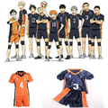 Anime Haikyuu Cosplay Hinata Jersey Karasuno High School Volleyball Club Oikawa Kenma Nishinoya Kuroo Karasuno Cosplay Costumes