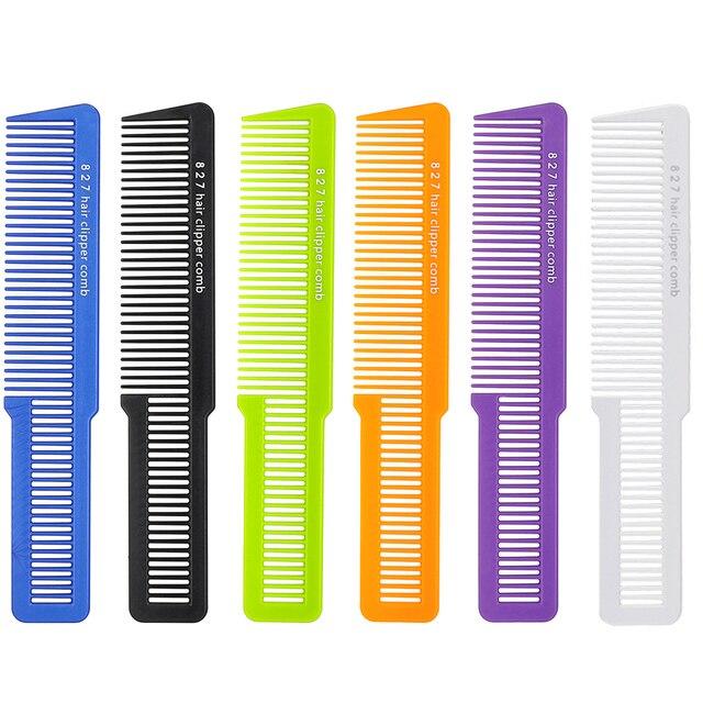 Salón Profesional hombres Clipper corte de pelo peine de peluquería peine del pelo para el pelo recorte peluquería peine T-827 5 colores disponibles