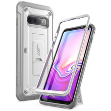 """SUPCASE UB Pro For Samsung Galaxy S10 Plus Case 6.4"""" Full Body Rugged Holster Kickstand Cover WITHOUT Built in Screen Protector"""