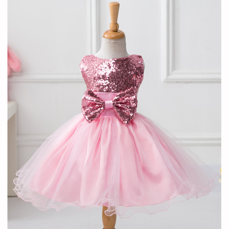 2017 Winter New Dresses Princess Baby girls Clothes Children Clothing Wedding party Kids Dress for girl 2 4 6 8 10  Birthday 3 12year wedding dress baby kids girl clothes children clothing girls cute princess party dress winter dresseses causal dress