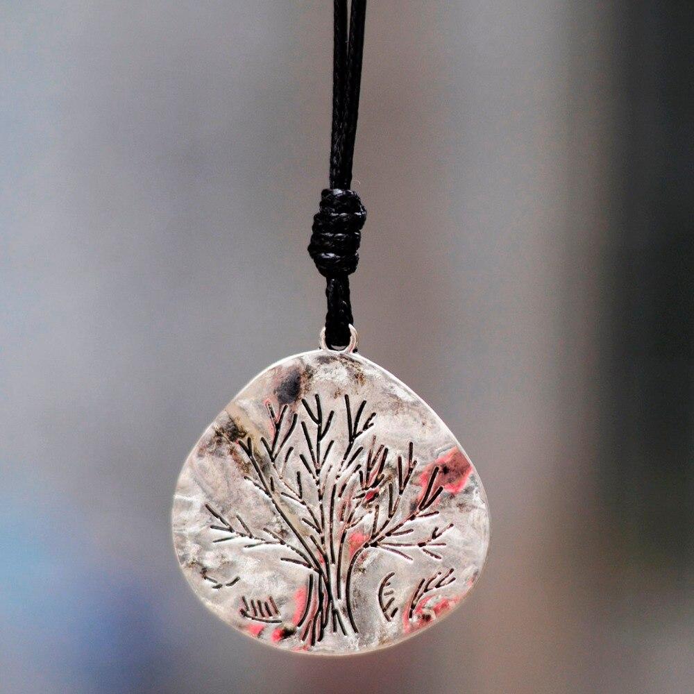 2017 New Fashion Jewelry Tree Women necklaces & pendants Vintage Long Necklaces for women statement necklace Women collier