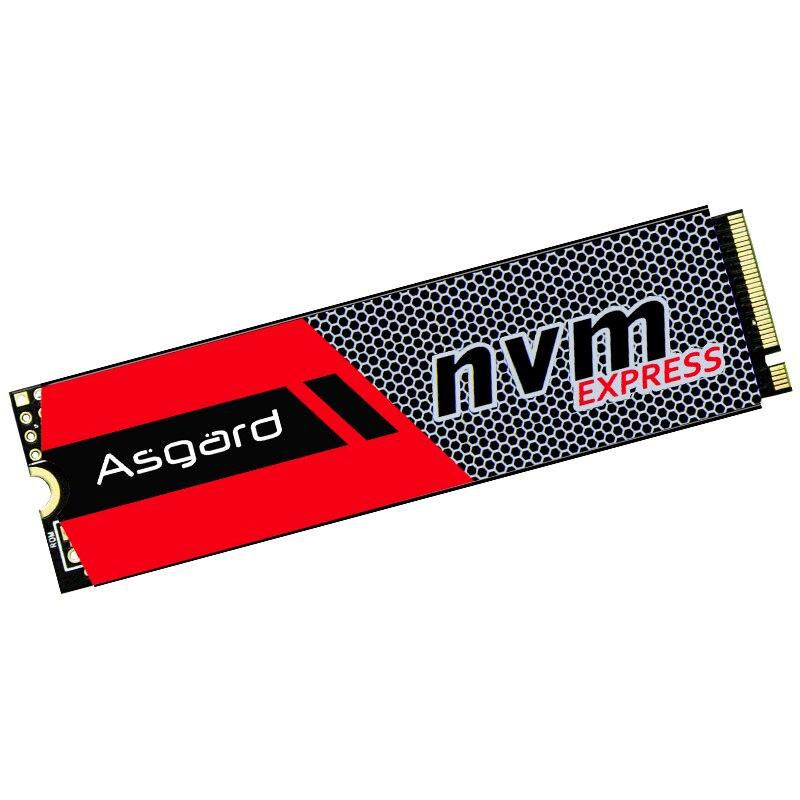 Meilleure vente Asgard 3D NAND 256 GB 512 GB 1 to M.2 NVMe pcie SSD disque dur interne pour ordinateur portable bureau haute performance PCIe NVMe - 3