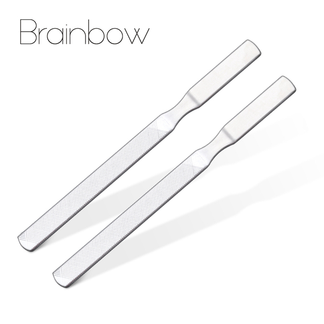 Brainbow 2pcs/pack Professional Nail Files Buffering Strong ...