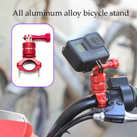 Bicycle Mount Bike Handlebar Seatpost For Go Pro Camera Accessory Tripod Holder Clamp For Gopro Hero