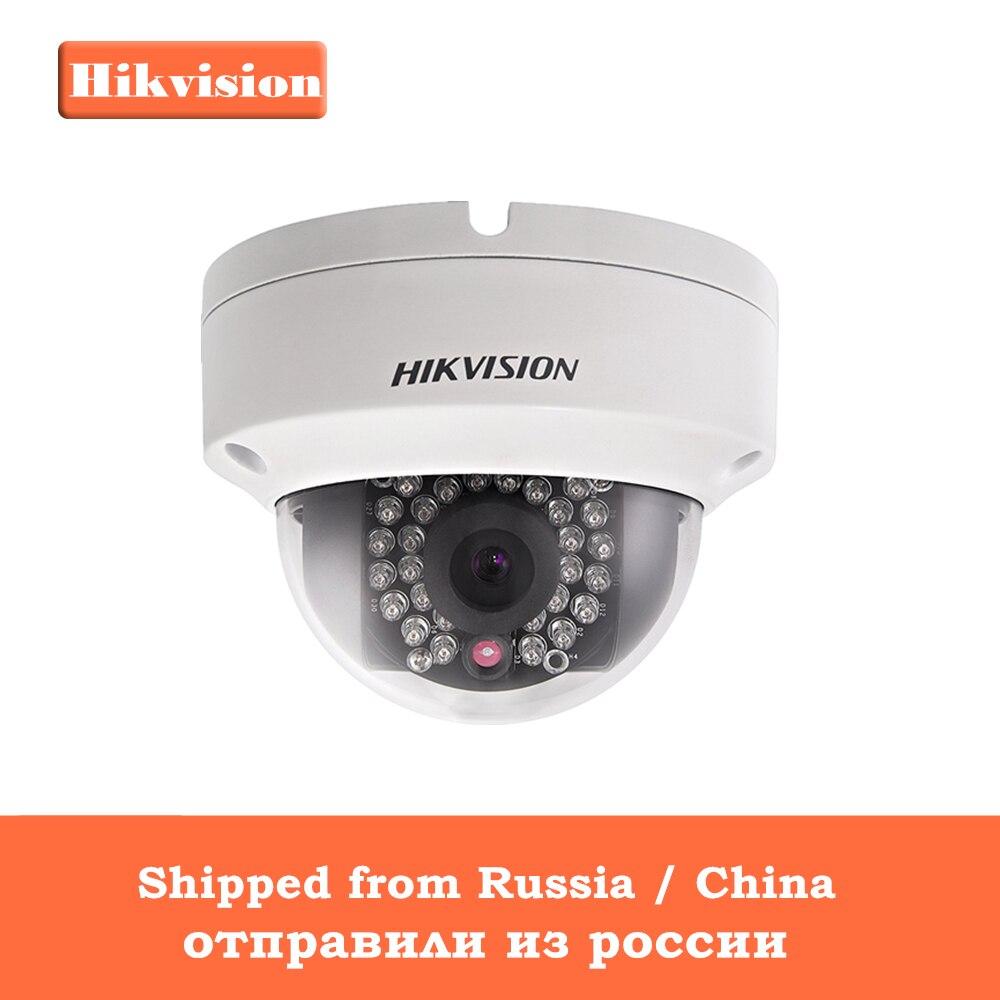 [En Stock] Origianl Hikvision H.265 CCTV Caméra DS-2CD2185FWD-IS 8 Megapixesl Dôme IP Caméra Fente Intégrée Pour Carte SD & Audio