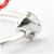 Wishful Coração Pulseira de Prata com Clear CZ Authentic 925 Fecho de Prata Da Jóia Da Moda para As Mulheres com o Coração Clipe FLB15024