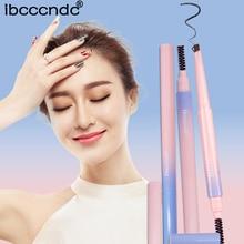 1pcs Rotatable Waterproof Lasting Eyebrow Pencil Eye Brow Pens Naked Makeup Cosmetics Brush Shade for Eyebrows Dye Gel Powder