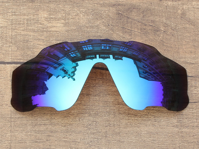 Polycarbonate-Ice Blue Mirror Replacement Lenses For Jawbreaker Sunglasses Frame 100% UVA & UVB Protection