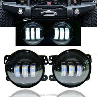New 2PCS 4inch 30W LED Fog Lights Len Projector For Jeeps Tractor Boat LED Fog Lamps
