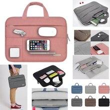 13 13.3 Inch Men Felt Portable Handbag Notebook Laptop Bag/Sleeve For Apple Mac Macbook Air / Pro Retina