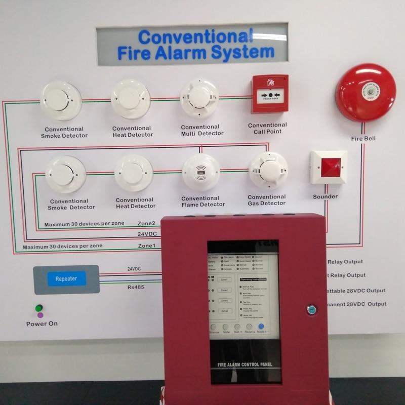 Yangına Dayanıklı Metal Panel Alarm Sistemi Kontrol Paneli 8 - Güvenlik ve Koruma - Fotoğraf 2