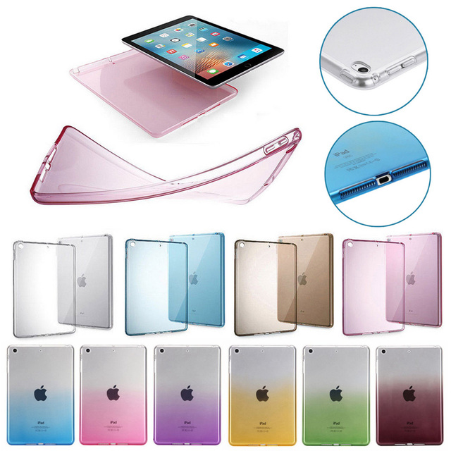 huge discount ac68a d2f49 US $4.99 |For Apple iPad Pro 11 2018 Case Clear Ultra Thin Transparent Soft  Silicon TPU Cover Tablet Case For iPad Pro 10.5 inch A1709-in Tablets & ...
