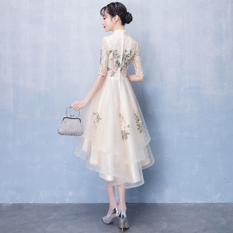 Image 2 - Женское платье цвета шампанского, элегантные платья для невесты на выпускной, 2020Платья подруги невесты   -