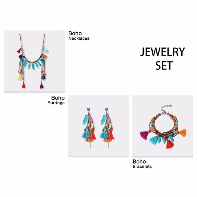 Bohemia Charm Bracelets for Women Crystal Bead