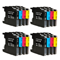 16 Brother LC1240 LC-1240 Ink Cartridges For MFC J5910DW J6710DW J6910DW J825DW Printer LC1240XL