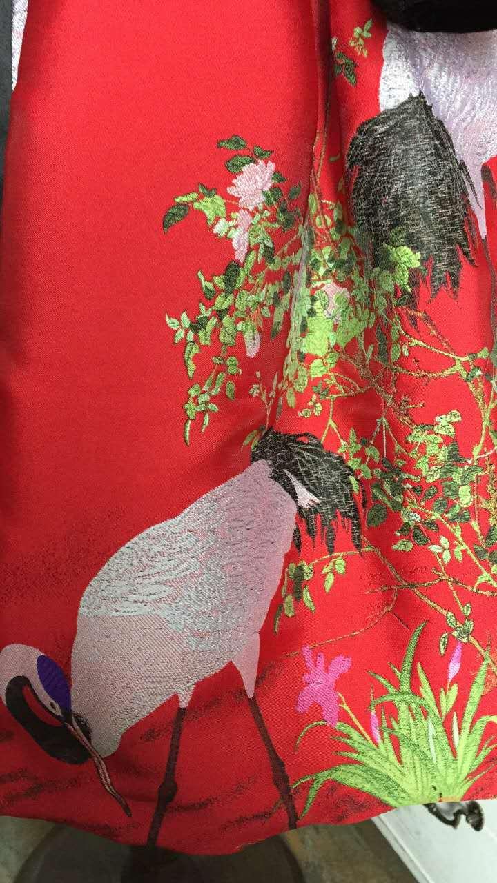 Girls Dresses 2018 Chinese Style Cheongsam Net Yarn Embroidery Thick