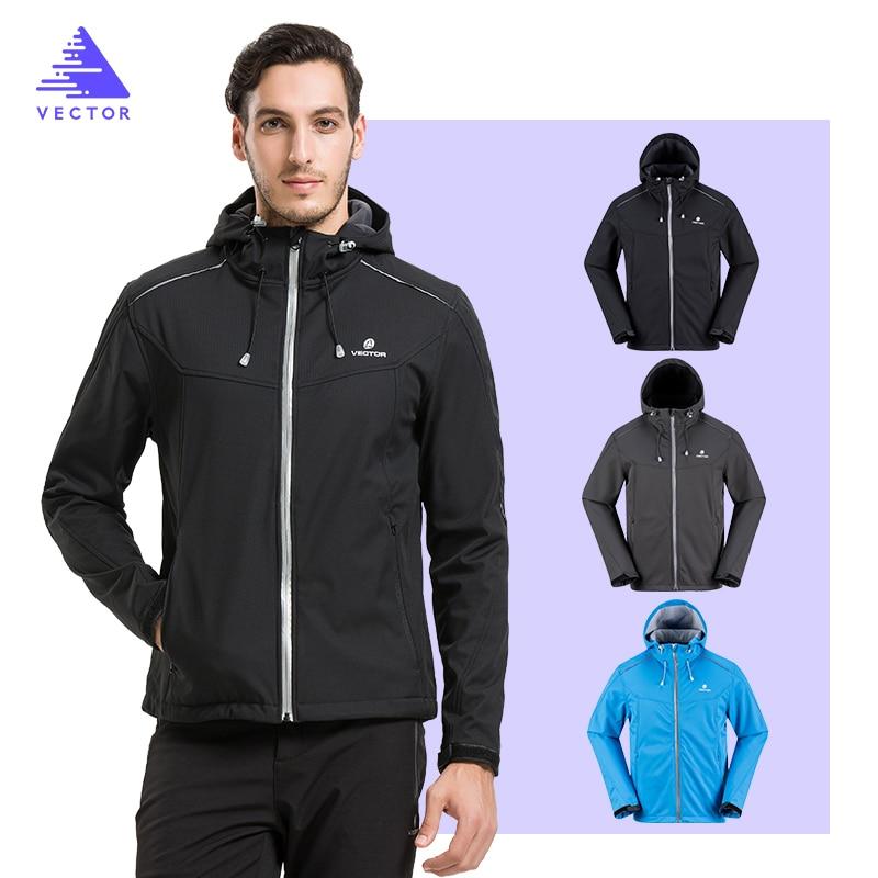 VECTOR Softshell veste hommes veste extérieure coupe-vent imperméable veste mâle Camping randonnée vestes pluie coupe-vent 60025