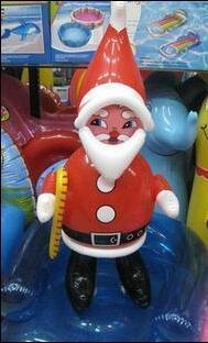 tienda del partido de santa claus de dibujos animados home hotel decoracin pvc juguetes inflables juegos