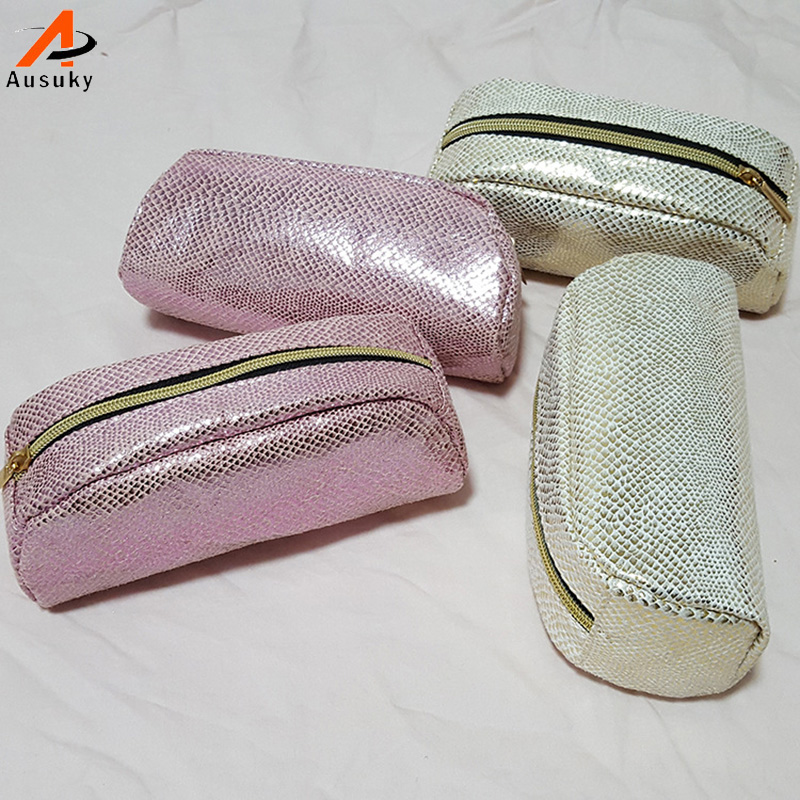 eeb6835c7745 US $4.31 39% OFF Brand Designer Cosmetic Bags Sequins Luxury Toiletry Bags  Organizer Gold Pink Women Makeup Bag Beautician Travel Make Up Case 40-in  ...