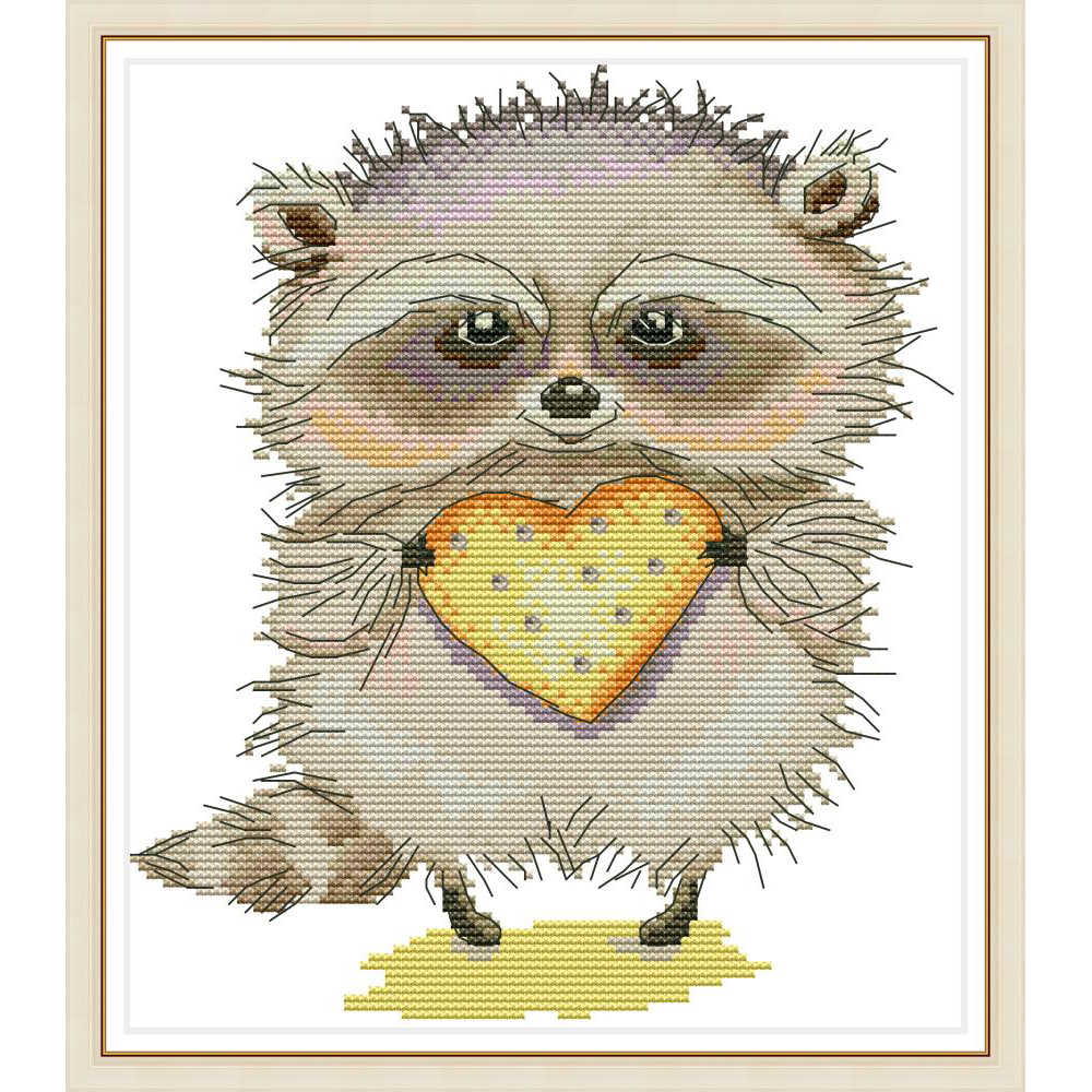 Everlasting love Who wants cookies? Chinese cross stitch kits Ecological cotton stamped printed 14 11CT DIY decorations for home