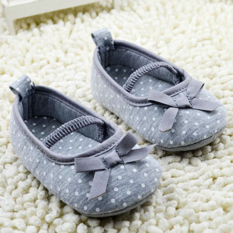 High Quality Girls Newborn Baby Prewalker Princess Shoes Infant Toddler  Butterfly Flower First Walkers Shoes