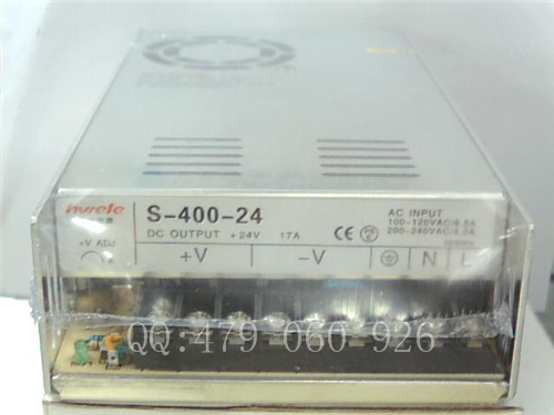 цена на [ZOB] Heng Wei switching power supply S-400-24 24V17A