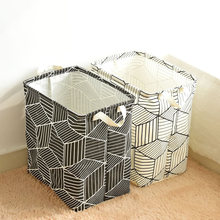 Laundry Basket Fabric Storage Basket Washing Clothes Basket Large Laundry Basket Dirty Clothes Storage Toys Storage Barrel Pouch