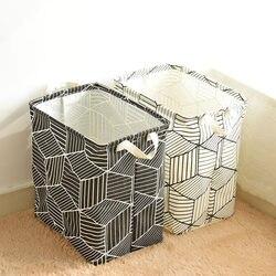 Laundry Basket Fabric Storage Basket Washing Clothes Basket Large Laundry Basket Dirty Clothes Storage Toys Storage Barrel Pouch