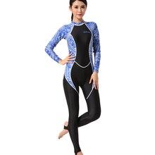 Hisea dive skin wetsuit women full body anti slip High Stretch 0.5mm lycra
