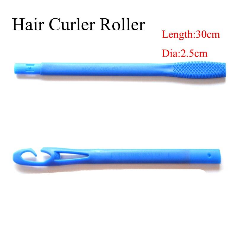 18 pz/set 30 cm con diametro di 2.5 cm lunghi capelli bigodino new magic roller 2017 nuovo venditore