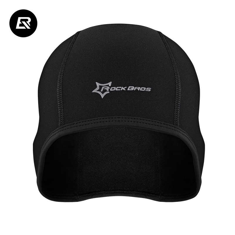 d3ec4ff8121 ... ROCKBROS Winter Warm Cycling Cap Sports Bicycle Bike Running Skiing  Fleece Windproof Bandana Men Women Thermal ...