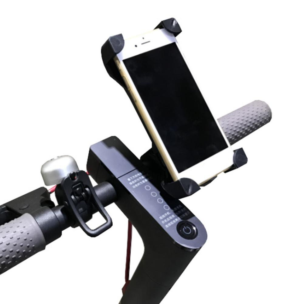 Adjustable Anti-Slip Mobile Phone Stand Holder For Xiaomi Mijia M365 Electric Scooter Qicycle EF1 Handlebar Mount Bracket Rack