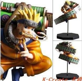 ФОТО Wholesale 1pcs Japan anime Uzumaki Naruto pvc figure toy tall 23cm.