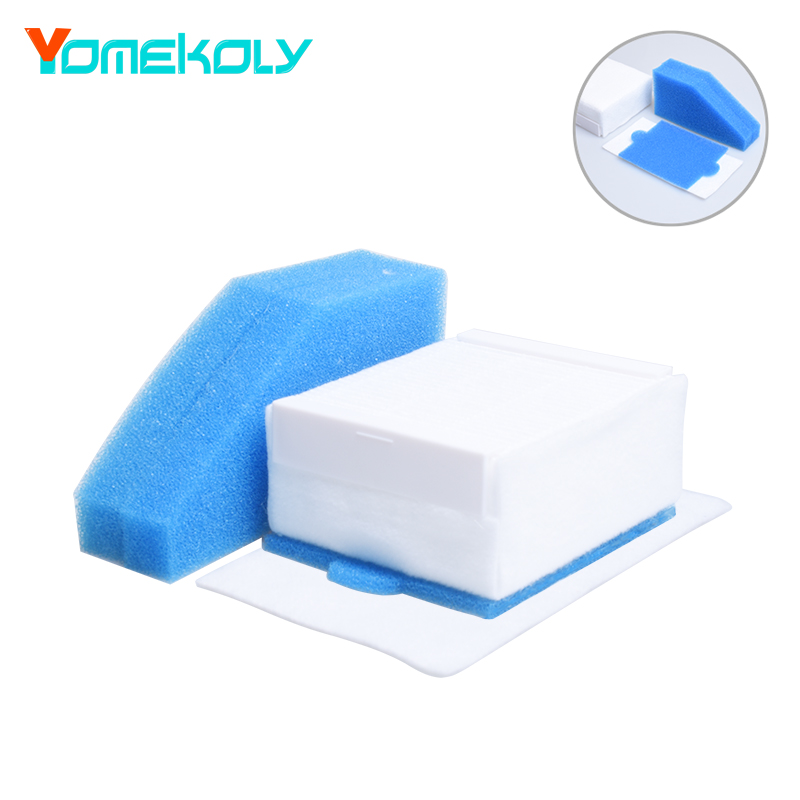5PCS/Set Vacuum Cleaner Foam Filter Parts for Thomas 787241 787 241, 99 Dust Cleaning Filter Replacements Filter Accessories skymen 1 set foam and felt filter vacuum cleaner filtering spare part for thomas 787241 vacuum cleaner accessories replacement