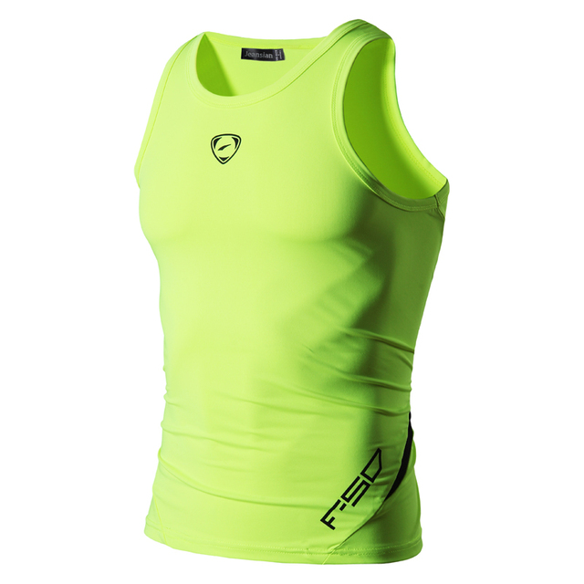 jeansian Men's Quick Dry Slim Fit Sleeveless Sport Tank Tops Shirts Workout Running LSL3306(PLEASE CHOOSE USA SIZE) 2