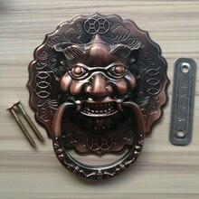 Door Hardware120*160mm Large Antique Lion Doorknocker Knocker Lionhead Doorknockers Lions Home Decor