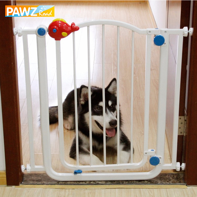 Dog Fences Plastic Safety Door Fences For Dog Children Stairs Protect  Railing Fence Pet Isolating Room