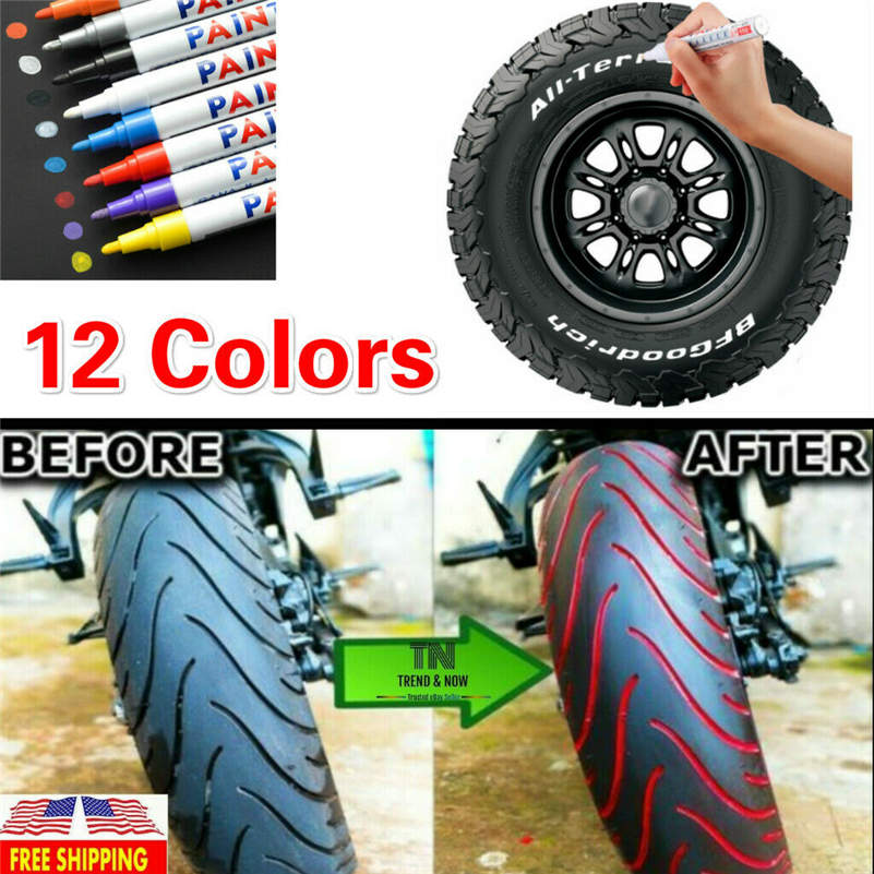 Waterproof, Non-Fading For One Year Tire Paint Pen