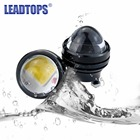 LEADTOPS 2X Car Led Lens Fog Light Eye Refit Fish Fog Lamp Hawk Eagle Eye + Daytime Running Lights 12v Automobile CJ