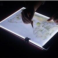 Kopie tisch LED kopie tischleuchte platte durch schreiben anime cartoon kopie zeichnung skizze zeichnung kunststoff kopie bord weiß