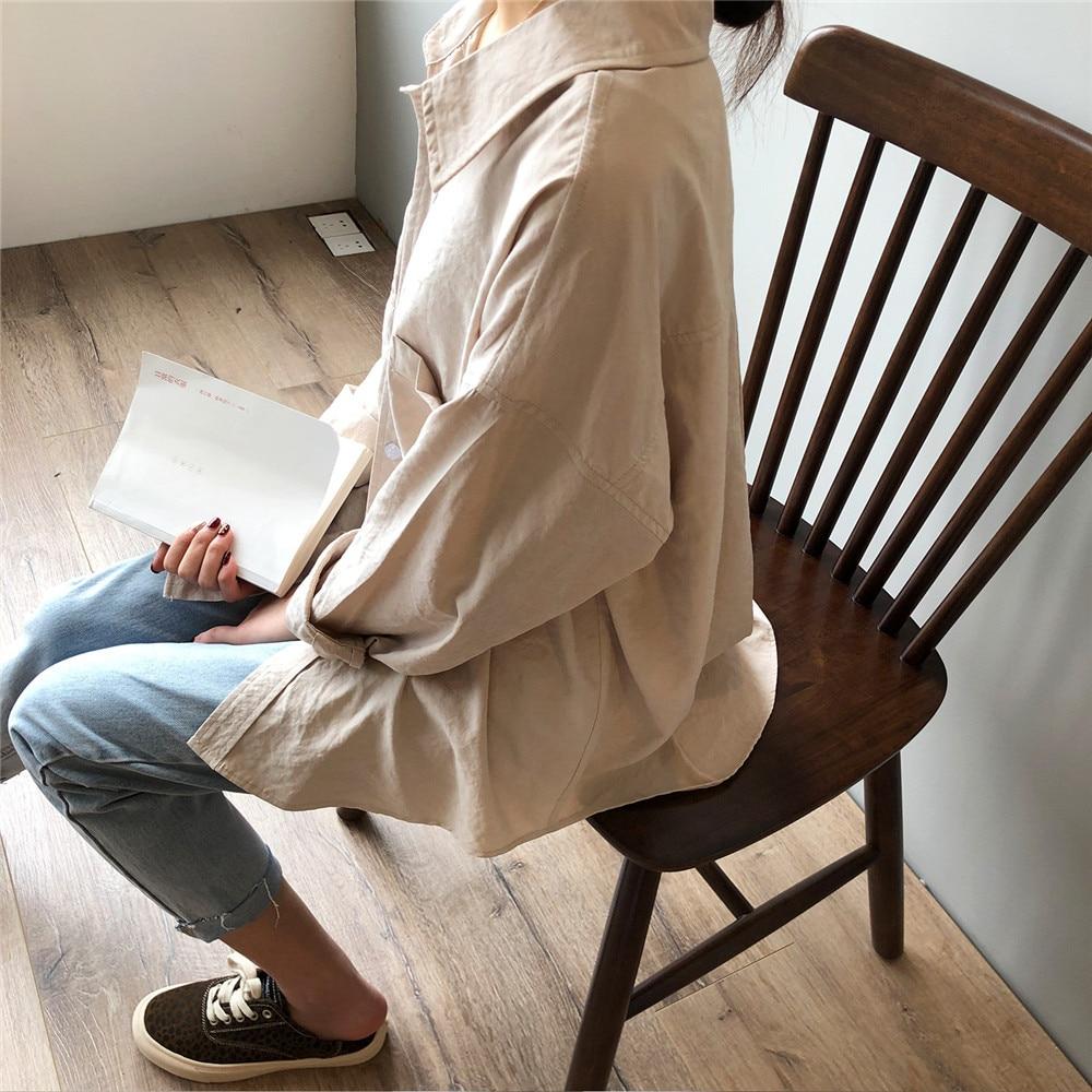 Vintage Women Blouse Shirts 2019 Autumn Korean Long Sleeve Women's Tops Blouses Blusas Roupa Feminina Tops High Quality Y6523 (9)