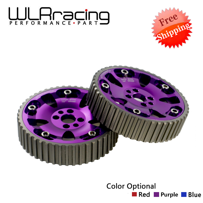 цена на WLR RACING - FREE SHIPPING (One Pair)CAM GEARS KIT FOR NISSAN SKYLINE RB20 RB25 RB26 R32 R33 R34(Blue,Red,Purple) WLR6536