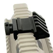 Тактический 45 градусов смещение рельс крепление быстрый выпуск Picatinny Weaver Универсальный рельс 20 мм охотничий прицел крепление