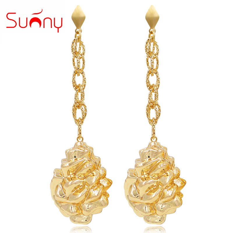 Sunny Jewelry Fashion Jewelry 2019 Long Drop Dangle Earrings For Women Copper High Quality Animal Hedgehog For Party WeddingSunny Jewelry Fashion Jewelry 2019 Long Drop Dangle Earrings For Women Copper High Quality Animal Hedgehog For Party Wedding