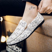 ZYYZYM Men Loafers 2019 Spring Summer Men Shoes Casual Shoes Light Canvas Youth Shoes Men Breathable Fashion Flat Footwear 5